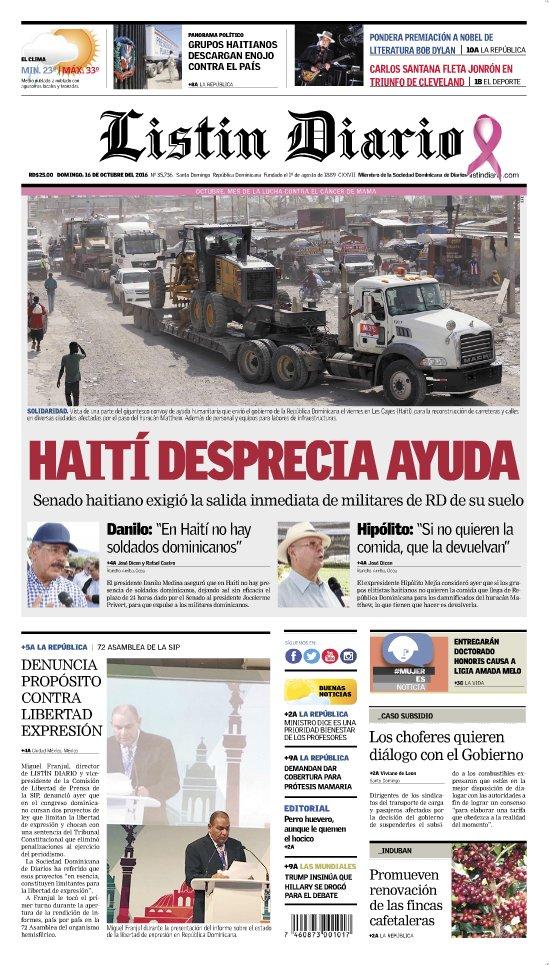 Nazionalisti da entrambe le parti soffiano sul fuoco delle divisioni tra #Haiti e Repubblica Dominicana